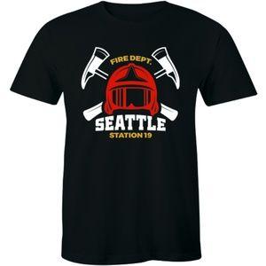 Fire Department Seattle Station 19 Premium T-shirt